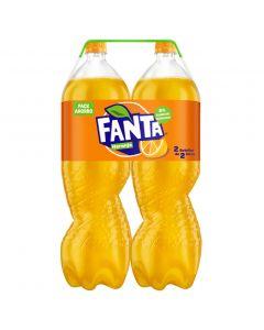 Refresco de naranja fanta botella pack de 2 unidades de 2l