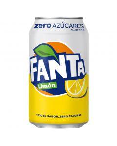 Refresco de limón fanta zaro lata 33cl