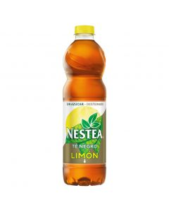 Refresco de té sin azúcar desteinado nestea botella 1,5l