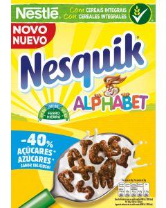 Cereales alphabet choco nesquick 325g