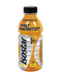 Bebida energética de naranja isostar botella 50cl