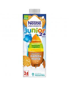 Leche líquida de crecimiento junior 2+ con galleta nestlé 1l