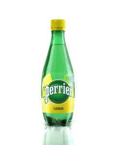 Agua mineral con gas limón perrier botella 50cl