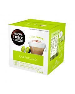 Café en cápsulas capuccino dolce gusto 16 cápsulas