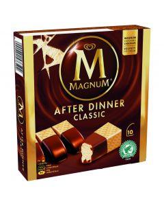 Helado bombón magnum after dinner frigo pack de 10ud de 35ml