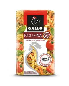Helices vegetales gallo sedalis 3min 400g