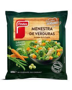 Menestra de verduras findus 400g