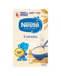 Papilla 8 cereales con bifidus nestlé 600g