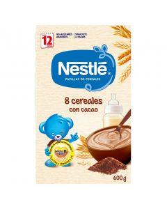 Papilla de cereales con cacao nestlé 600g