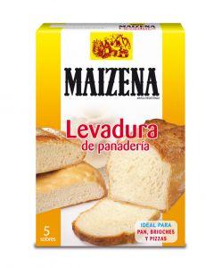 Levadura panaderia sobres maízena 5 unidades
