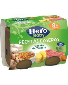 Tarrito de cocido hero receta casera 200g