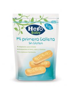 Galletas infantiles sin gluten hero 180g