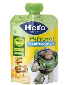 Pouch de fruta mediterránea hero nanos 100g