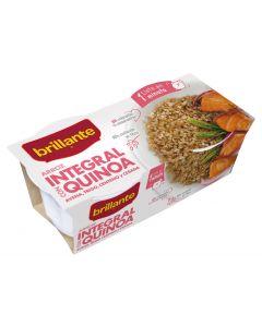 Arroz integral quinoa brillante vaso pack de 2 unidades de 125g