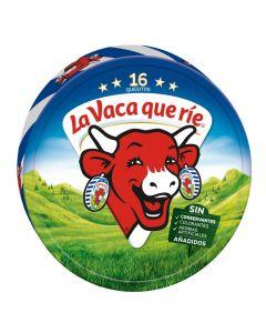 Queso porciones vaca que rie 16 unidades 250g