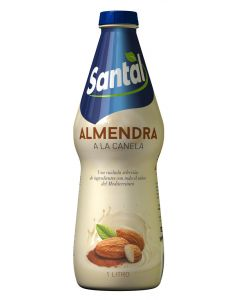 Bebida de almendra y canela santal botella 1l