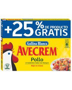 Caldo de pollo avecrem gallina blanca 12 pastillas