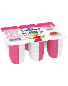 Petit de fresa natural danonino pack de 6 unidades de 50g