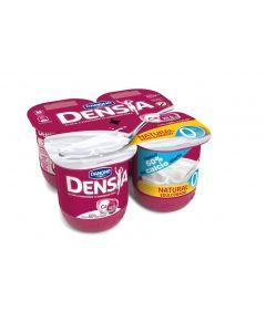 Bebida lactea 0% natural edulcorado densia pack de 4 unidades de 120g