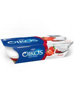 Yogur de fresa oikos pack de 2 unidades de110g
