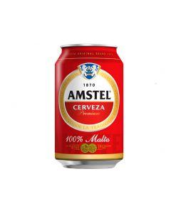 Cerveza amstel lata 33cl