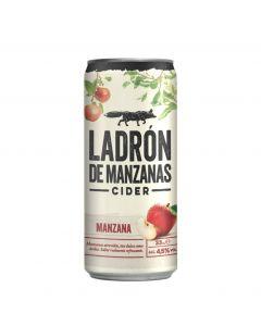 Cider sabor manzana ladron de manzanas lata 33cl
