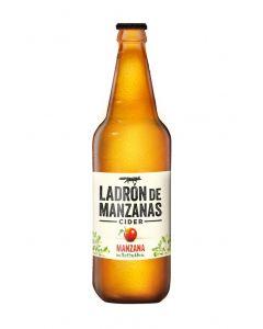 Cider sabor manzana ladron de manzanas botella 75cl