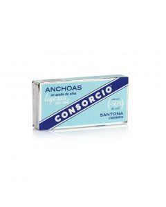 Anchoa ligera baja en sal en aceite de oliva consorcio 29g