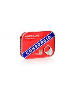Anchoa en aceite de oliva consorcio 50g