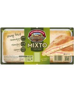 Sandwich de jamón y queso casa tarradellas pack de 2 unidades de 240g