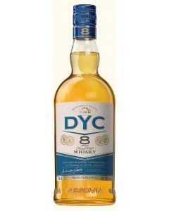 Whisky 8 años dyc botella 70cl