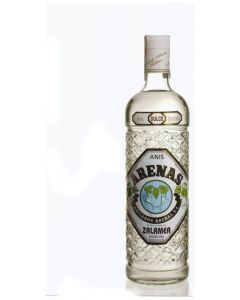 Anis seco zalamea azul botella 1l