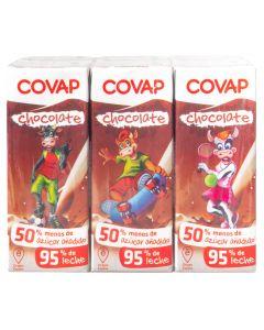 Batido de cacao covappack de 6 unidades de 200ml