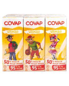Batido de vainilla covap pack de 6 unidades de 200ml