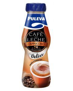 Café con leche capuccino puleva botella 220ml