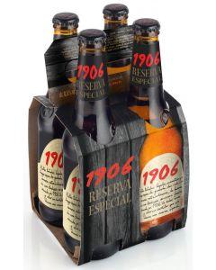 Cerveza 1906 reserva p4 botella 33 cl