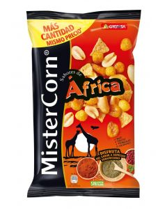 Cocktail de frutos secos africa grefusa 195g
