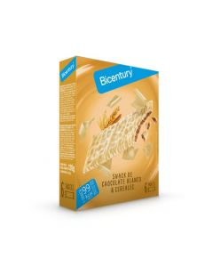 Barrita sarialis de chocolate blanco bicentury 120g