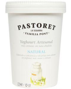 Yogur artesano natural pastoret 500g