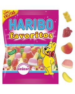 Gominolas favoritos azúcar haribo 150g