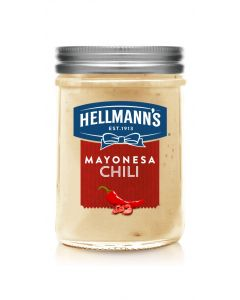 Mayonesa chili hellmans gourmet tarro 181ml