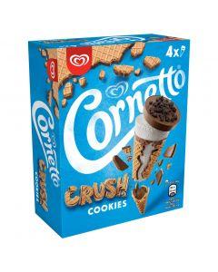 Helado cono choco crush nata cornetto p4x90ml