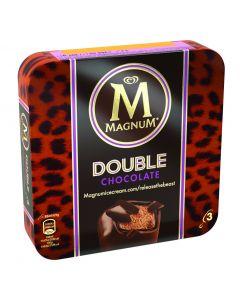 Helado bombón doble chocolate magnum frigo pack de 3 unidades de 88ml
