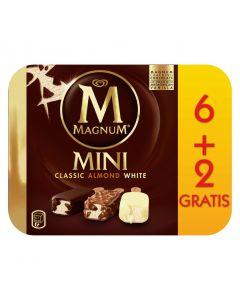 Helado bombón mini magnum frigo pack de 6 unidades+2 440ml