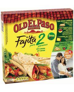 Fajitas old el paso kit pack de 2 unidades de 236g