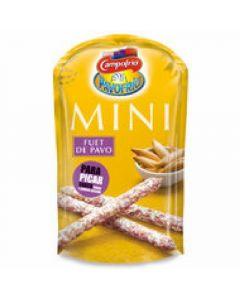 Fuet pavo campofrio mini sticks 50g
