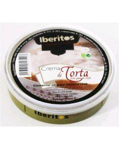Crema de queso torta iberitos lata 140g