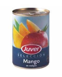 Mango en rodajas juver lata 425g