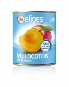 melocotón en almibar sin azúcar ifa eliges lata 480g