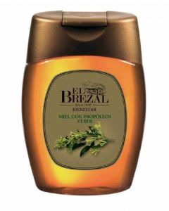 Miel con jalea real propoleo antigoteo brezal envase 350g